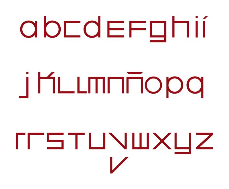 Diseño de tipografía para Arola Madrid. Restaurante, cafetería, coctelería, eventos, etc.