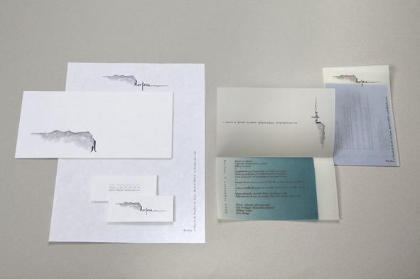 Imagen corporativa de Norfeu, laboratorio de I+D gastronómico, de Sergi Arola.