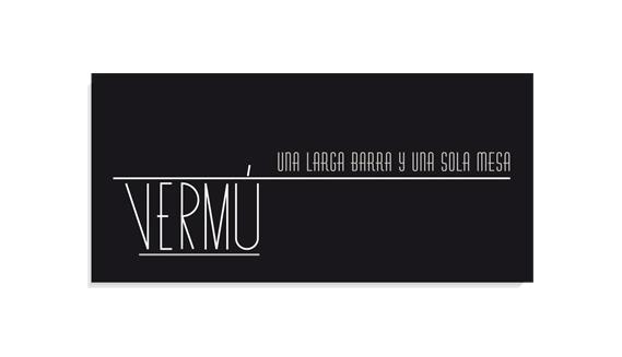 Logotipo para Vermú, barra-bar.