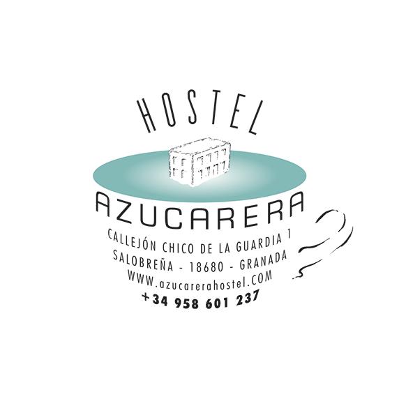 Imagen corporativa para Hostel en antigua fábrica de azúcar en Salobreña.
