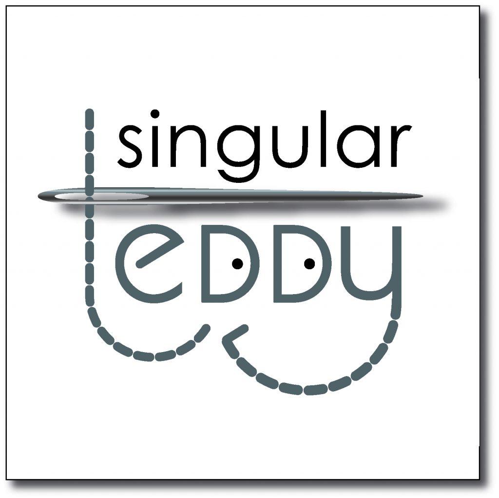 Logotipo para Singular Teddy, taller de peluches únicos y personalizados.