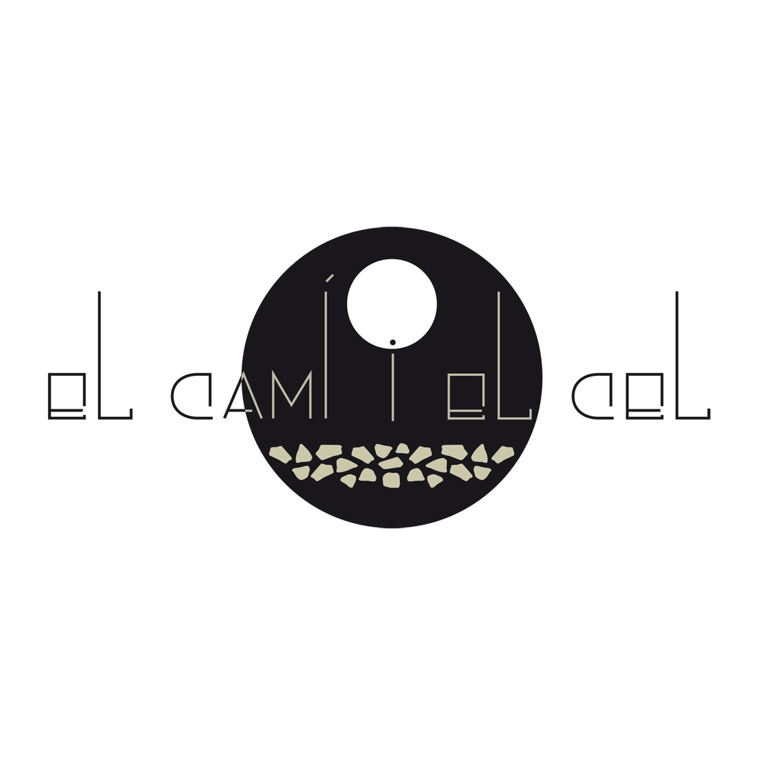 Logotipo para El Camí i el Cel. Restaurante y tapas gastronómicas, Jardín, coctelería.