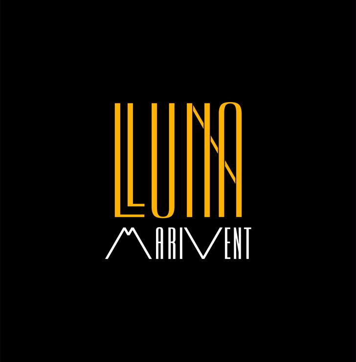Logotipo para Lluna Marivent, restaurante, tapas gastronómicas, louge-bar, boat-cattering.